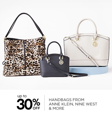 up to 30% OFF | HANDBAGS FROM ANNE KLEIN, NINE WEST & MORE