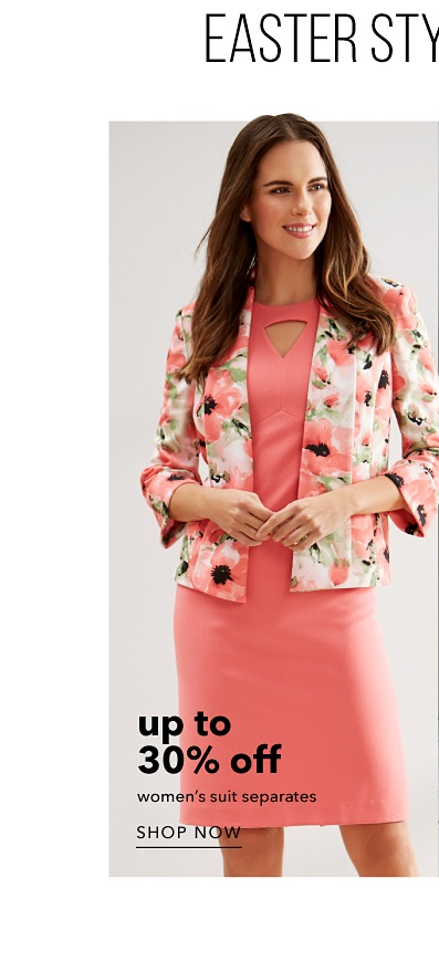 Up to 30% off Women's Suit Separates - Shop Now
