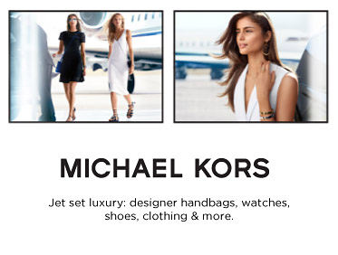 Michael Kors Jet set luxury: designer handbags, watches, shoes, clothing & more.