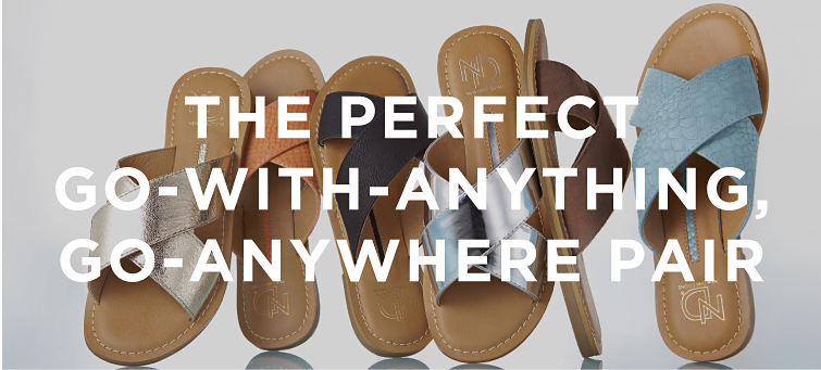 THE PERFECT GO=WITH-ANYTHING, GO-ANYWHERE PAIR