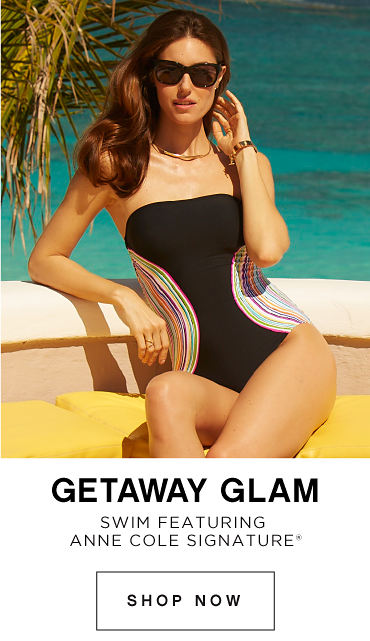GetAway Glam Swim featuring Anne Cole Signature® - Shop Now