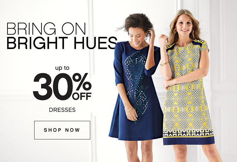 Bring On Bright Hues | Up to 30% off Dresses - Shop Now