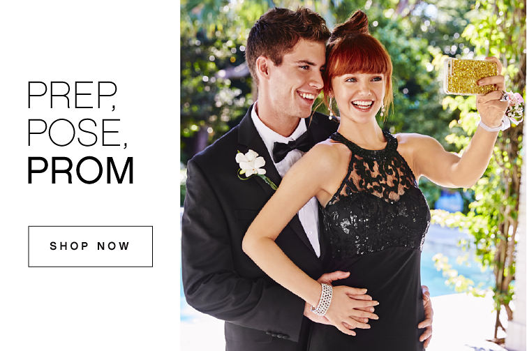 Prep, pose, prom | shop now