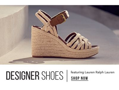 Designer Shoes featuring Lauren Ralkp Lauren. Shop Now.