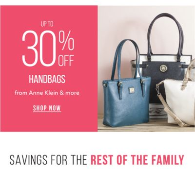 Up to 30% off Handbags from Anne Klein & more. Shop Now.