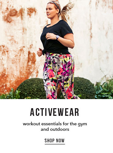 Activewear - workout essentials for the gym and outdoors - SHOP NOW