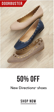 Doorbuster - 50% off New Directions' Shoes - Shop Now