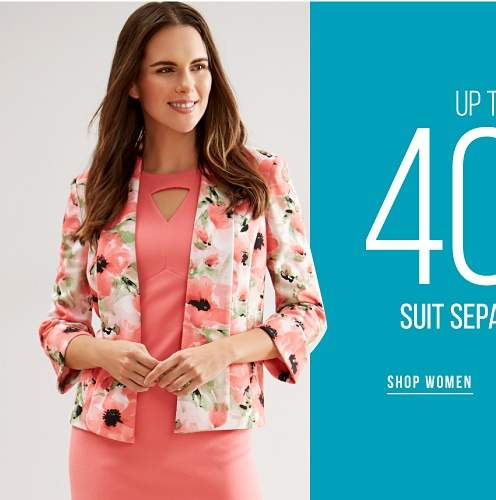 Up to 40% off Suit Separates - Shop Women