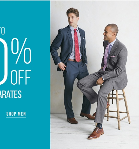 Up to 40% off Suit Separates - Shop Men