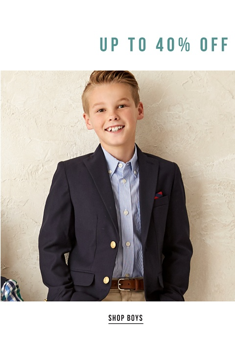 Up to 40% off Kids' Dresswear - Shop Boys