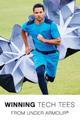 WINNING TECH TEES FROM UNDER ARMOUR®