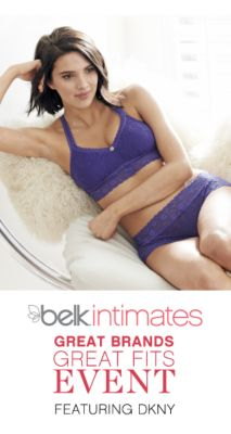 belk intimates | FEATURING DKNY