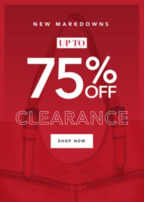 New Markdowns Up to 75% off Clearance. Shop Now.
