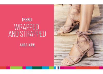 TREND: Warapped ans Strapped. Shop Now.