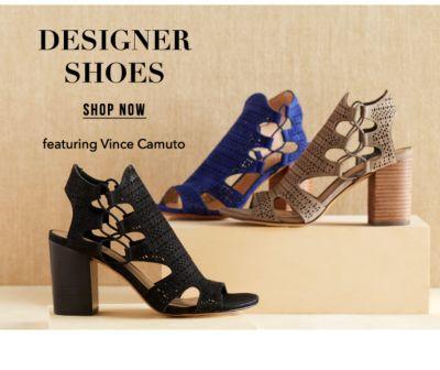 Designer Shoes, featuring Vince Camuto. Shop Now.