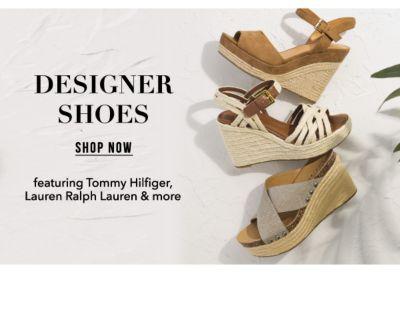 Designer Shoes, featuring Tommy Hilifiger, Lauren Ralph Lauren & more. Shop Now.