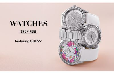 Watches, featuring Guess®. Shop Now.