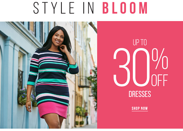 Style in Bloom - Up to 35% off Dresses - SHOP NOW