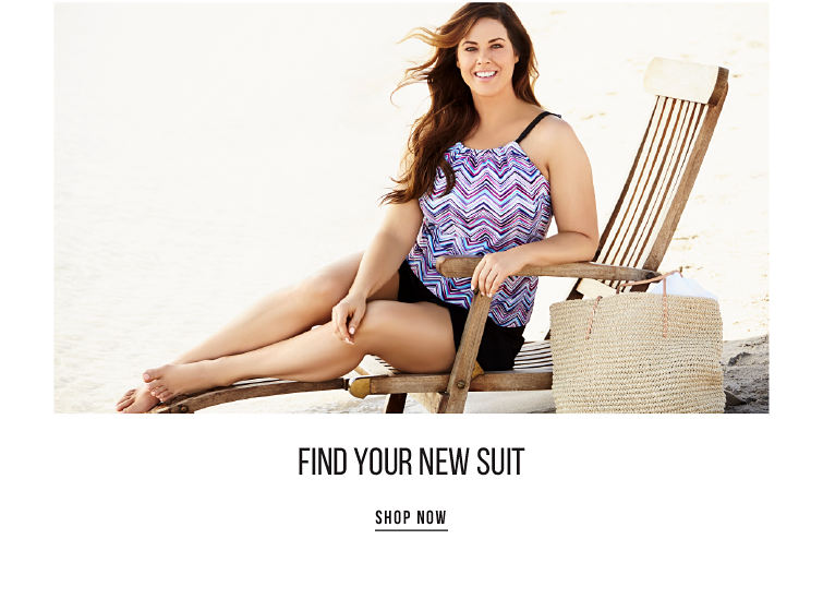 Find Your New Suit - SHOP NOW