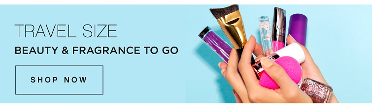 Travel Size Beauty & Fragrance To Go | Shop Now