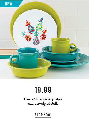 19.99 Fiesta Luncheon Plates Exclusively at Belk | shop now