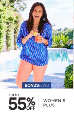 BONUSBUYS | up to 55% OFF | WOMEN'S PLUS
