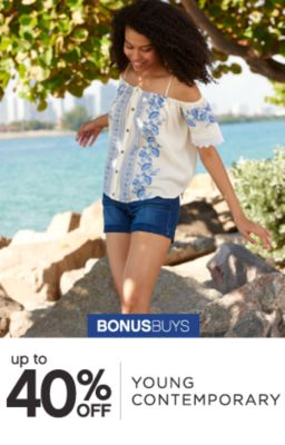 BONUSBUYS | up to 40% OFF | YOUNG CONTEMPORARY