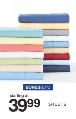BONUSBUYS | starting at 39.99 | SHEETS