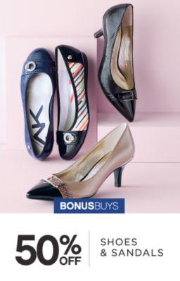BONUSBUYS | 50% OFF | SHOES & SANDALS