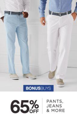 BONUSBUYS | 65% OFF | PANTS, JEANS & MORE