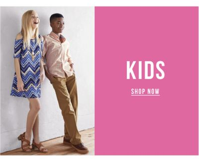 Hello Spring - Savings for the whole family - Kids. Shop Now.