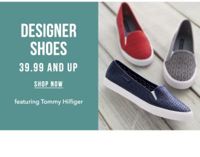 Designer Shoes - 39.99 and Up, featuring Tommy Hilfiger. Shop Now.
