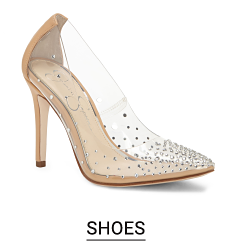 Clear high heels. Shop shoes.