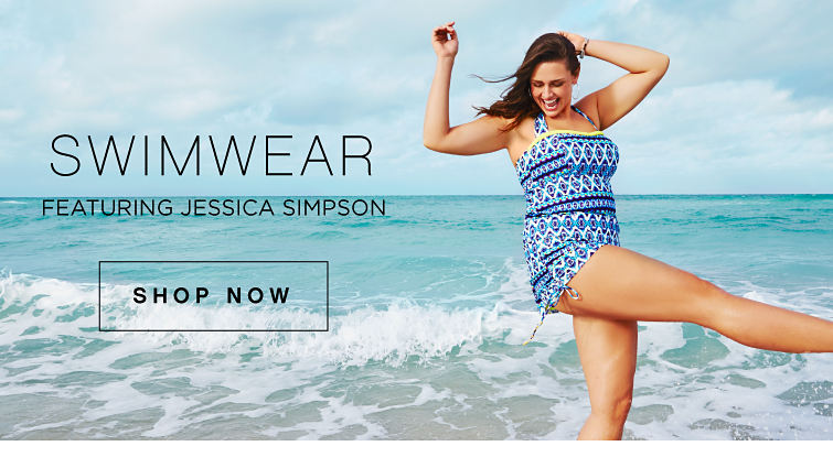Swimwear | Featuring Jessica Simpson | shop now