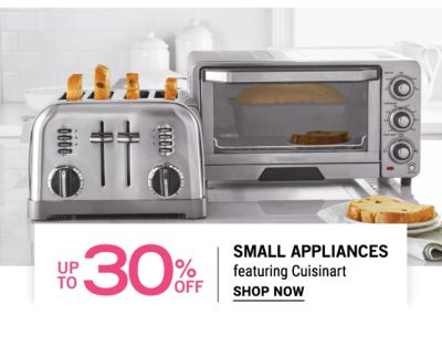 Up to 30% off Small Appliances featuring Cuisnart - Shop Now