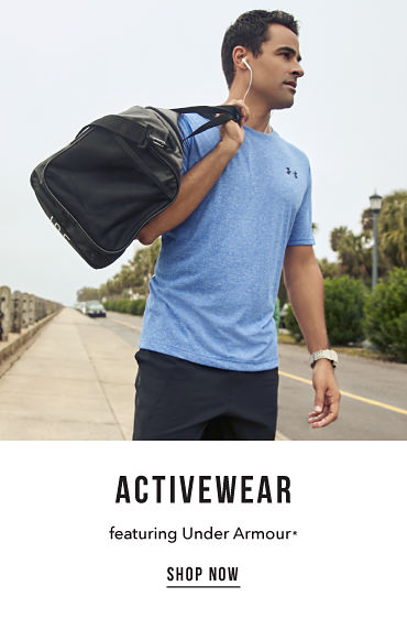 Activewear. Featuring Under Armour registered trademark. Shop now