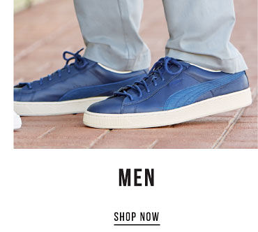 Men. Shop Now.
