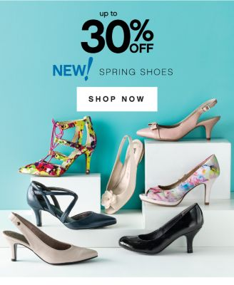 up to 30% OFF NEW! SPRING SHOES | SHOP NOW