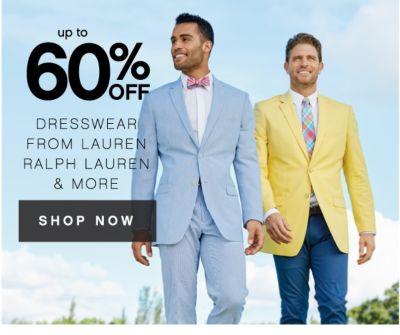 up to 60% OFF DRESSWEAR FROM LAUREN RALPH LAUREN & MORE | SHOP NOW