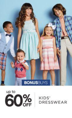 BONUSBUYS | up to 60% OFF | KIDS' DRESSWEAR
