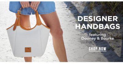 Designer Handbags, featuring Dooney & Bourke®. Shop Now.