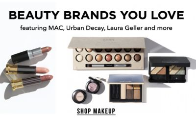 Beauty Brands you Love, feauting MAC, Urban Decay, Laura Geller and more. Shop Makeup.
