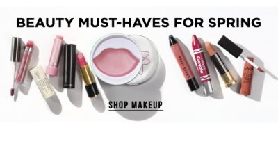 Beauty Must-Haves for Spring. Shop Makeup.