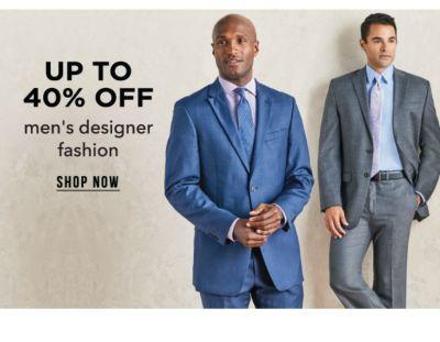 Up to 40% off men's designer fashion. Shop Now.