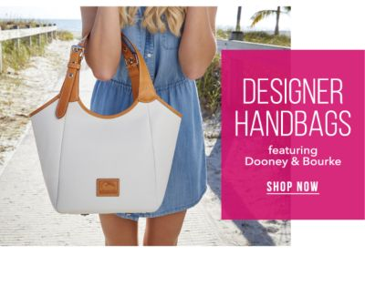 Designer Handbags, featuring Dooney & Bourke®. Shop Now.