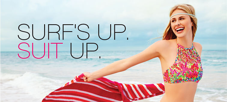 Surf's Up. Suit Up.