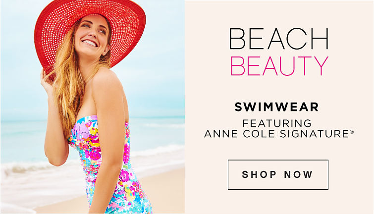 Beach Beauty Swimwear featuring Anne Cole Signature® - Shop Now