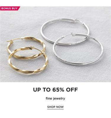 BONUS BUY - Up to 65% off fine jewelry. Shop Now.