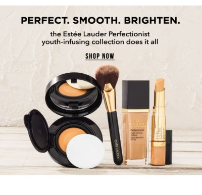 Perfect. Smooth. Brighten. The Estee Lauder Perfectionist youth-infusing collection does it all. Shop Now.