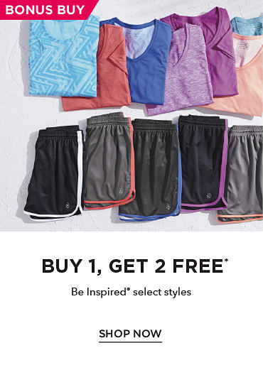 Buy 1, Get 2 Free* Be Inspired® select styles - SHOP NOW